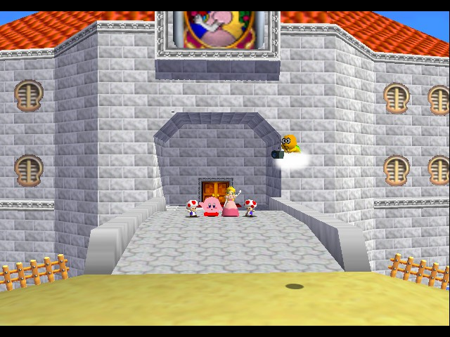 Super Mario 64 - Kirby Edition - SEE YOU IN THE NEXT GAME - User Screenshot